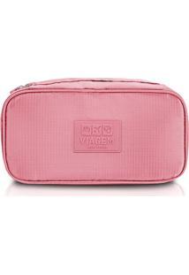 Bolsa Porta Lingerie Rosa - Jacki Design