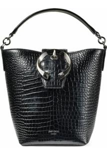 Jimmy Choo Bolsa Bucket Madeline - Black