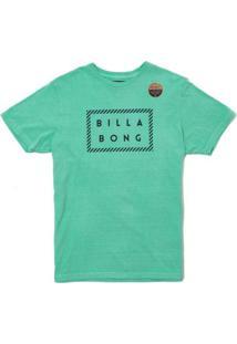 Camiseta Billabong Front Die Cut - Masculino