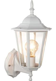 Arandela Lanterna Colonial Com Braço - Branco