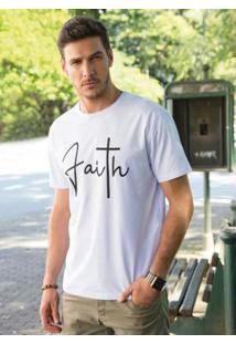 Camiseta Branca Faith