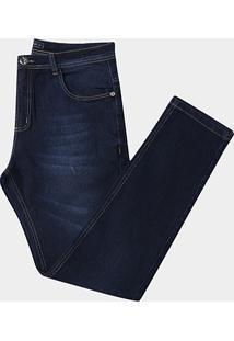 Calça Jeans Preston Plus Size Masculina - Masculino