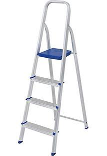 Escada De Alumínio 4 Degraus Mor