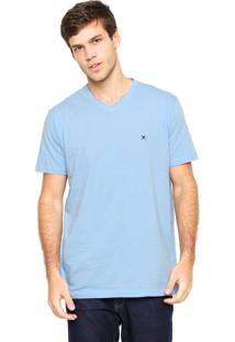 Camiseta Polo Play Lisa Azul