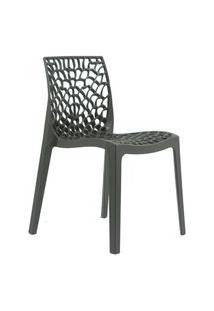 Cadeira Byartdesign Gruvyer Cinza