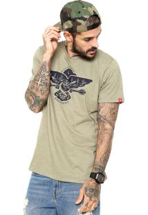 Camiseta Element Snake Bite Verde