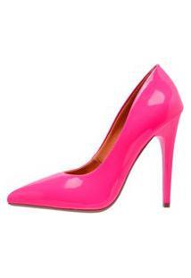 Scarpin Di Scarp Calçados Salto Alto Pink