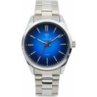 e3f096d4f56 Relógio Tuguir Analógico 5013 - Masculino-Prata+Azul Claro
