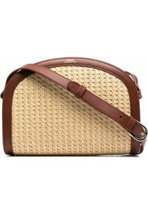 A.P.C. Demi Lune Shoulder Bag - Neutro