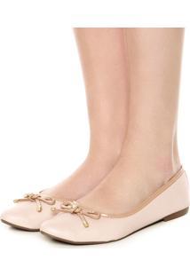 Sapatilha Dafiti Shoes Textura Nude