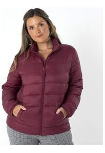 Jaqueta Matelasse Com Bolsos Curve & Plus Size