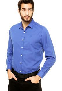 Camisa Forum Logo Azul