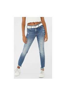 Calça Jeans Colcci Skinny Cory Azul