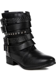 Bota Ankle Boot Feminina Autentique Preto