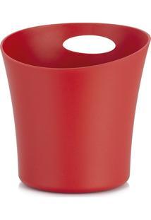 Balde Para Gelo Vermelho 1,4 L