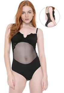 Body Calvin Klein Underwear Las Palmas Preto