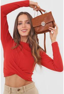 Bolsa Desigual Across Body Bag Melody Caramelo