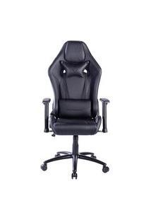 Cadeira Gamer Husky Gaming Hurricane, Preto, Com Almofadas, Reclinável, Encosto De Braço 2D - Hgma127