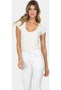 Calça Flare Malibu White Hot Pant Branco - Lez A Lez