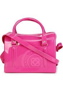 Bolsa Petite Jolie Baú Bloom Feminina - Feminino-Pink