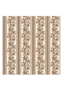 Papel De Parede Adesivo - Listrado Floral - 904Ppv
