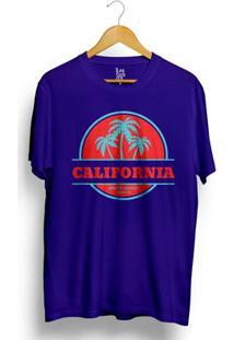 Camiseta Los Fuckers Santa Monica - Masculino-Azul
