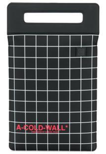 A-Cold-Wall* Bolsa Carteira Com Gravação - Preto