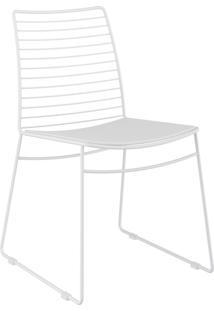 Kit 2 Cadeiras 1712 Couríssimo Móveis Carraro Branco