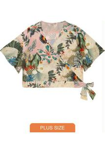 Blusa Secret Glam Rosa