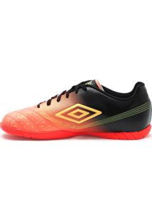 Tênis Indoor Sprint Coral Preto Umbro