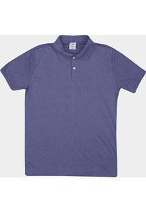 Camisa Polo Tigs Malha Mesclada Frisos Masculina - Masculino