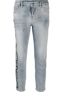 Dsquared2 Calça Jeans Cropped 'Cool Girl' - Azul