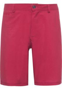 Bermuda Masculina Board Estampada - Vermelho