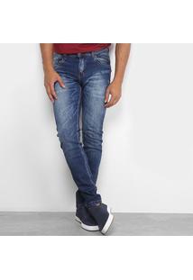 Calça Jeans Skinny Rockblue Masculina - Masculino-Jeans