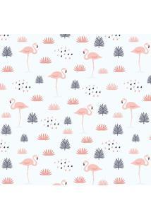 Papel Adesivo Sunset Adesivos De Parede Flamingos - Rolo 3,00 X0,50 M