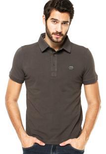 Camisa Polo Sergio K Detalhe Cinza