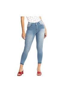 Calça Jeans Biotipo Skinny Azul Claro