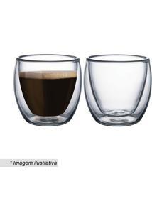 Jogo De Xícaras Para Café- Incolor- 110Ml- Tramotramontina