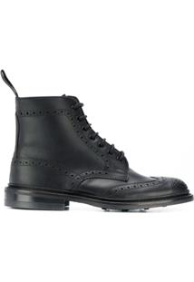 Trickers Ankle Boot 'Stow' - Preto