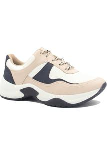dc1f750ed6 ... Tênis Sneaker Dakota Chunky Recortes Feminino - Feminino-Nude