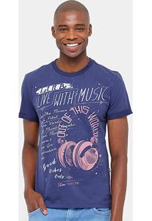 Camiseta Triton Music For Life Masculina - Masculino