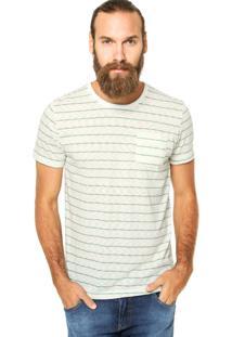 Camiseta Sommer Reta Multicolorida