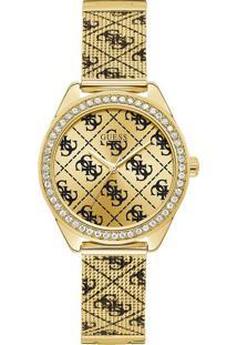 Relógio Guess Feminino Aço Dourado - W1279L2
