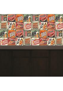 Adesivo Azulejos Hot Food (15X15)