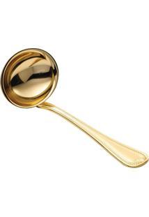 Concha Para Molho Geneve- Inox & Dourada- 19Cmwolff