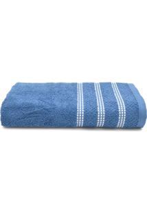 Toalha De Banho Santista Unique Detroit Azul