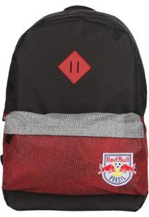 Mochila Red Bull Block Red Vermelho Preto - Unissex
