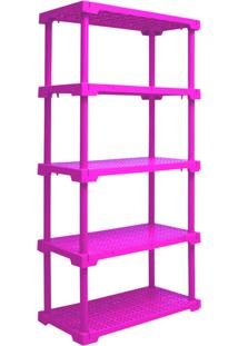 Estante Cube 5 Rosa