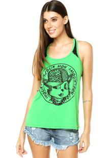 Regata Sommer Clássica Cat Verde