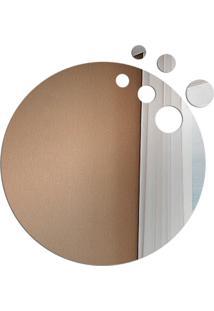Espelho Love Decor Decorativo Circulo Vazado Único - Kanui